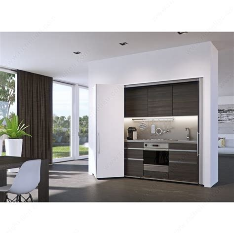 kitchen cabinet bi fold door hardware hawa folding concepta 25 tall bifold slide in pocket