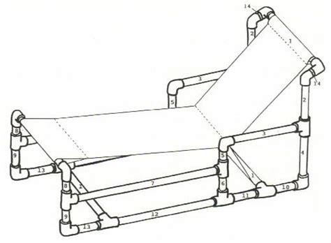 pvc chaise lounge plans pvc furniture plans http woodworkingplansplans pvc