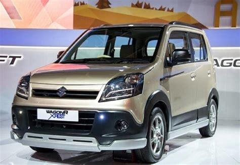Suzuki Wagon R Price Maruti Wagonr Crossover India Launch Price Specs Images