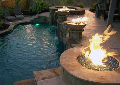 pool fire pit custom bbq grill contractors north texas texas pool