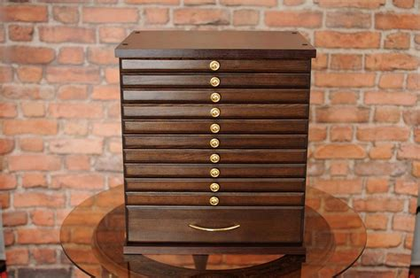 10 1w coin tray collectors collection cabinet for 10 trays