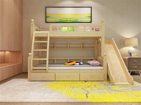 zc06 usine prix pas cher enfants lit superpos 233 avec toboggan lit d enfant id de produit