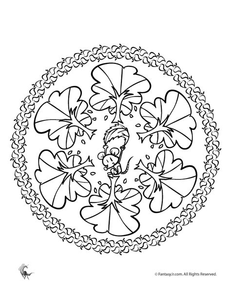 autumn mandala coloring pages fall halloween coloring pages coloring home