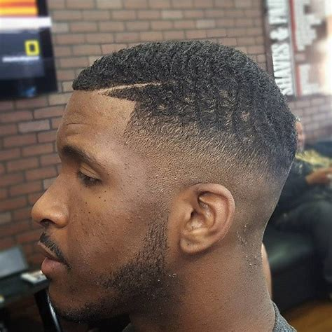 black taper cut 50 fade and tapered haircuts for black men