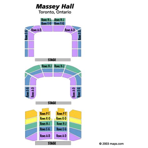 massey hall floor plan massey hall seating chart massey hall tickets massey