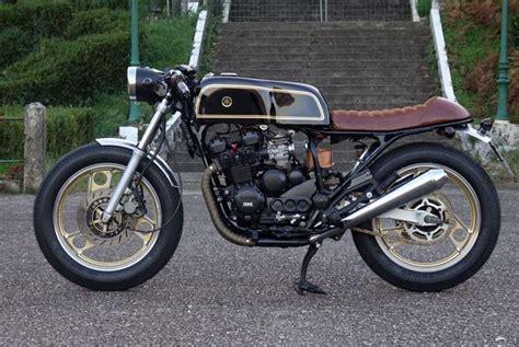 Motorrad Bmw Vigo by Yamaha Xj 600 Cafe Racer Hecha Por Machete Company Una