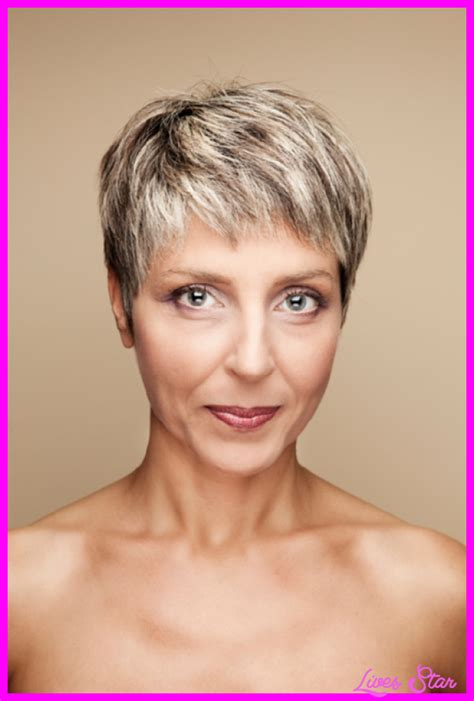 pixie haircut women over 40 short pixie haircuts for women over livesstar com