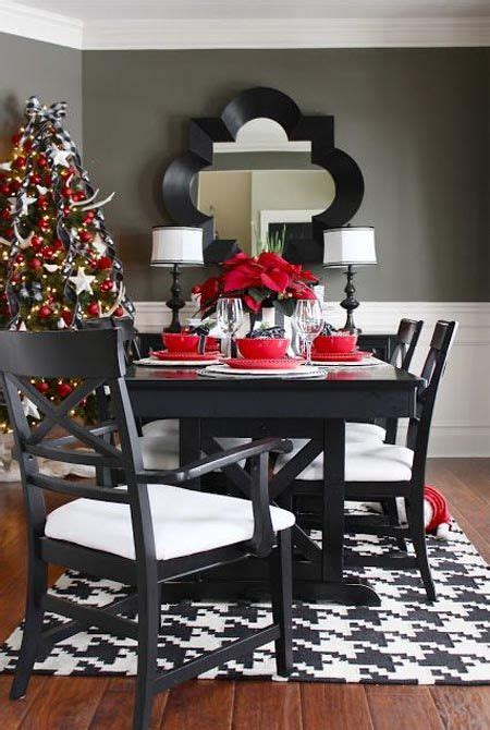 fabulous christmas appealing decorations dining room table 792 best christmas table decorations images on pinterest