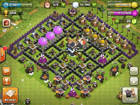 defense layout in coc clash of clans defense layout town hall 5 car interior