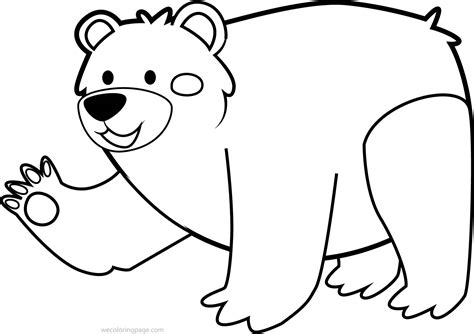 cute bear coloring pages cute bear sheet coloring pages