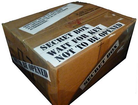 Mystery Box mystery box scribble press