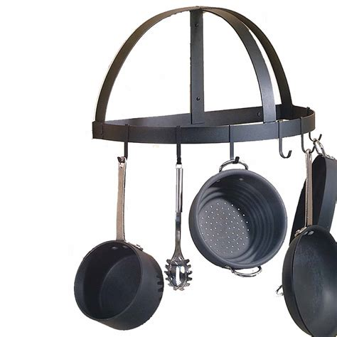 Iron Wall Pot Rack Wrought Iron Pot Rack Wall Mounted