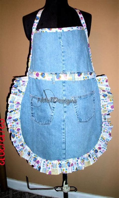 pattern for jeans apron denim apron pattern upcycled denim aprons aprons