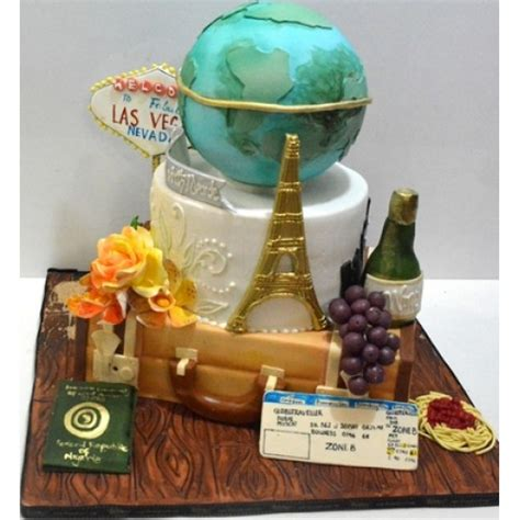 Wandes World Travel Cake