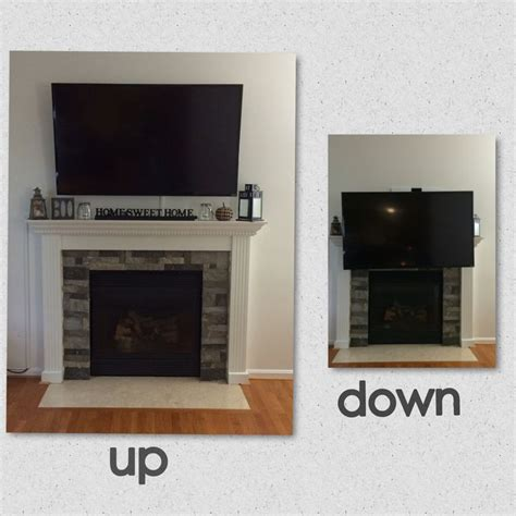tvs and fireplaces on