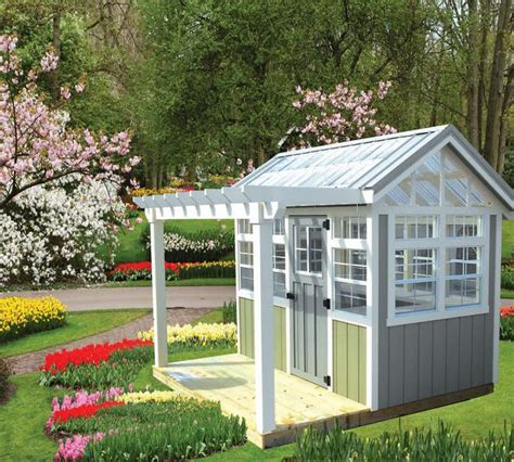 garden shed and potting shed