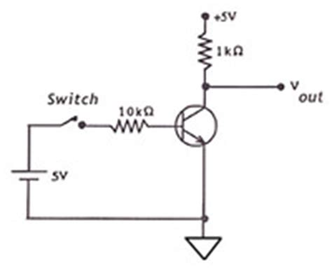transistor used as a switch transistor as switch