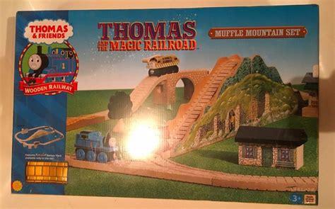 And The Magic L by Magic Railroad Muffle Mountain Set The Tank Engine Wooden Nib Ebay