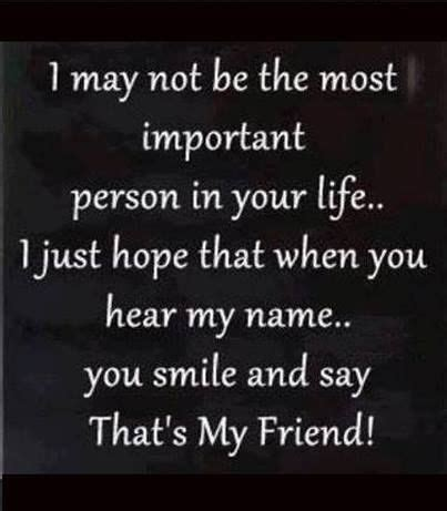 I Am Not A Special i may not be the most important person in your