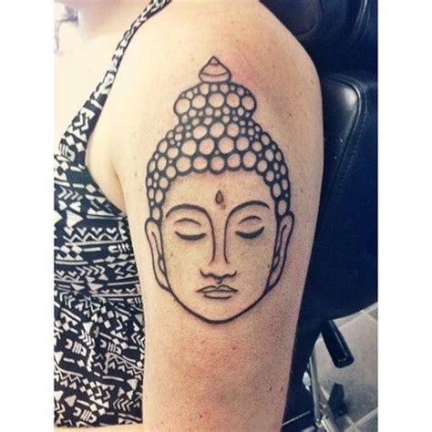 buddha head tattoo 131 buddha designs that simply get it right