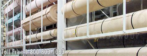 Carpet Carousel Of 3 by Revolving Carpet Carousel Houston Storing Rolls Of