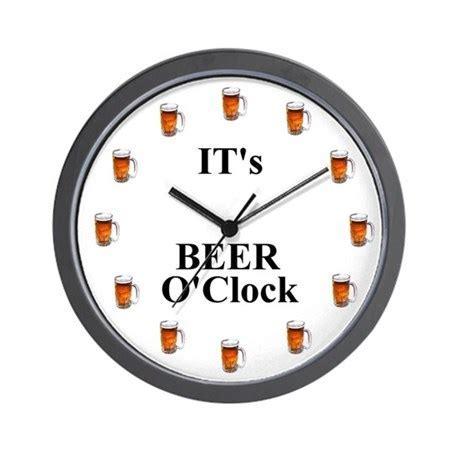 Its Beer O'Clock Wall Clock by scgear