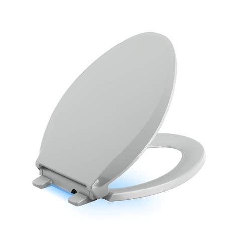 led light toilet seat kohler light led toilet seat elongated front k4888 0