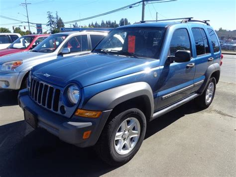 2006 Jeep Liberty Crd 2006 Jeep Liberty 4x4 Turbo Diesel Crd Central Nanaimo