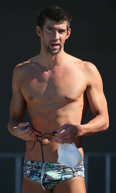 In Graphics If Michael Phelps Michael Phelps Was Nearly Cast As Until He Bombed