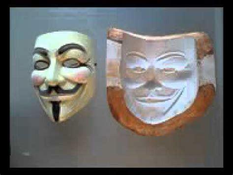 youtube membuat topeng cara membuat topeng anonymous youtube