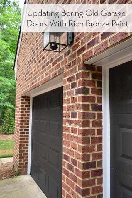painting  garage doors  richer deeper color young
