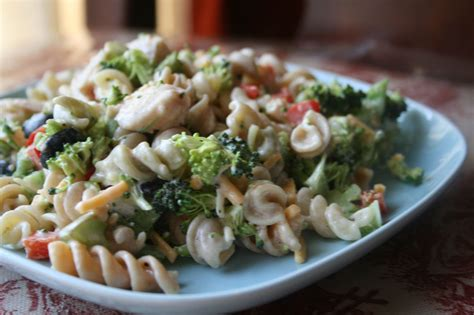 Chicken Pasta Salad Recipe | recipe shoebox chicken pasta salad