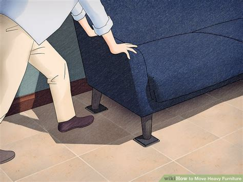 how heavy are couches 3 ways to move heavy furniture wikihow