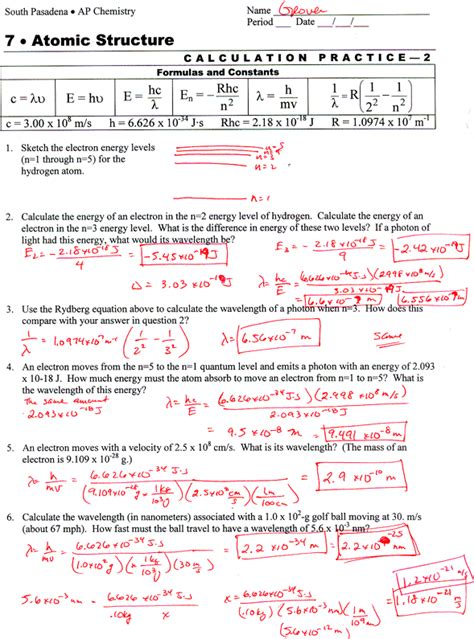 electron energy and light pogil answers atomic structure and chemical bonds worksheet answers free