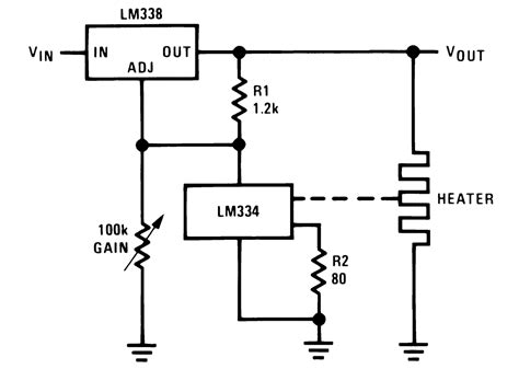 what is a circuit ic lm338 application circuits explained in simple words