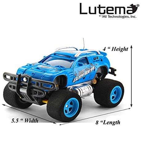 0960030262 3 Truck Remote Import Lutema Tracer Overlord 4ch Remote Truck Blue