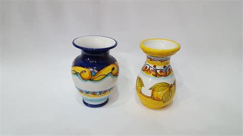 vasi vietresi vaso portafiori arte in ceramica vietrese