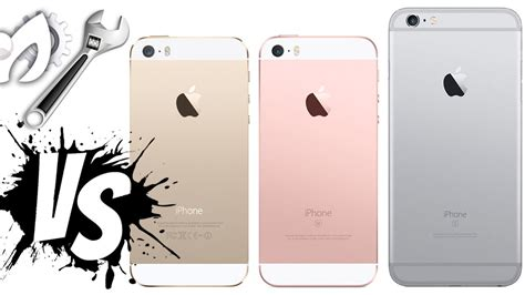 iphone se vs iphone 6s vs iphone 5s cual comprar diferencias
