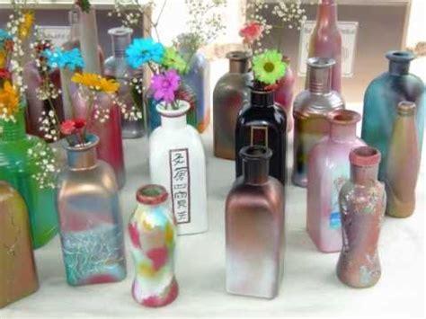 decoracion en botellas youtube