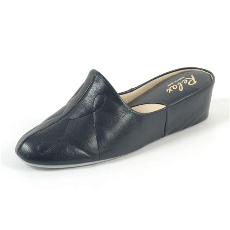 leather house shoes dulcie relax womens luxurious leather slippers black patent slippers buy relax