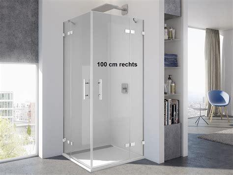 duschabtrennung ebenerdig eckeinstieg ebenerdig 100 x 75 x 200 cm duschabtrennung