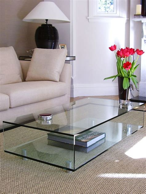 Living Room Tables Uk Best 25 Glass Coffee Tables Ideas On Farmhouse Sofas And Sectionals Diy Soundbar