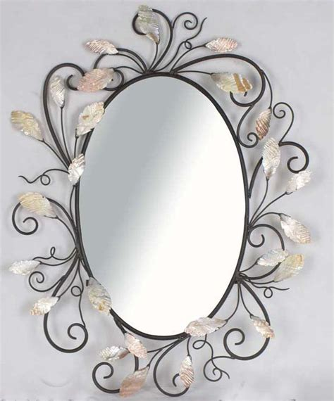 mirror designs wall mirrors victorian design swiveled metal oval wall