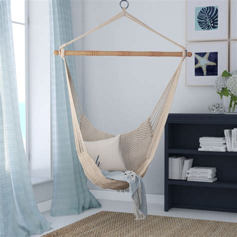 beachcrest home crowell rope cotton chair hammock