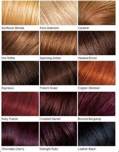 reddish brown hair color chart loreal color chart different brown hair