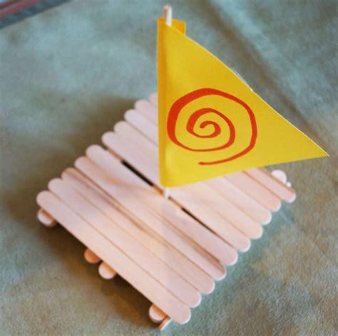 moana boat flags disney moana crafts healthy happy thrifty family