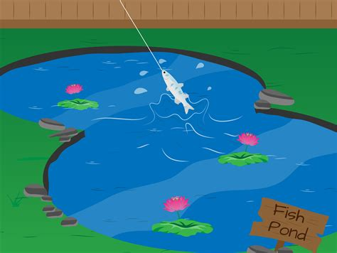 how to make a fish pond in your backyard how to build your own fishing pond 8 steps with pictures