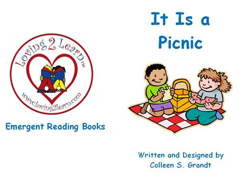 emerging books emergent readers a printable book and read along