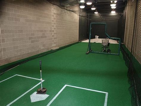 basement batting cage the top dreams and tops on
