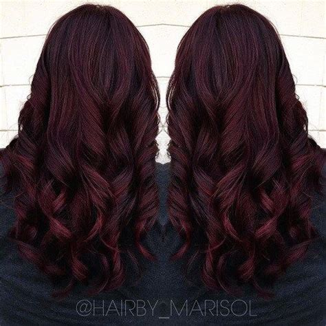 mahogany red hair with high lights it s all the rage mahogany hair color dark burgundy